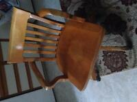 Old style bankers chair