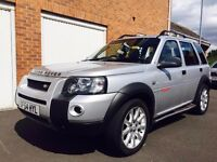2005 54 Land Rover Freelander Sport TD4 **Automatic** Low Miles 90k FSH Leather not shogun range