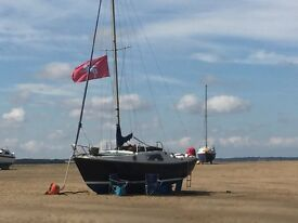 Sea Drift 20 Sloop Sailing Boat