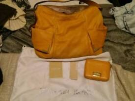 Micheal Kors bag with matching purse