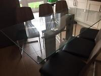 Table and chairs for 6