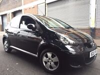 Toyota Aygo 2010 1.0 Black Multimode 5 door AUTOMATIC, (a/c) 1 OWNER, FULL SERVICE HISTORY, BARGAIN