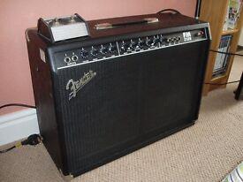 Electric Guitar Amplifier - Fender FM 100w twin speaker