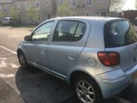 toyota yaris nice and clean car