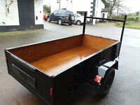 8FT X5FT SINGLE AXLE TRAILER