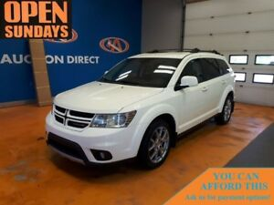 2013 Dodge Journey R/T AWD! LEATHER! NAVIGATION!