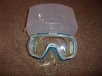 NEW Tusa Visio tri ex MP20JCB Scuba, or snorkeling mask NEW with Box