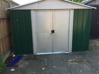 "Yard master metal shed only used for six months 10""X13"""