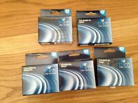 5 new and sealed XL ink cartridges for HP printer. Think Ink brand equivalent to 364 HP cartridge