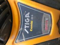 Stiga 550E lawn mower