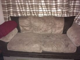 Great sofa,still in good condition,3 seater sofa,to be collected
