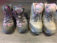Girls Walking Boots size 3 & size 5