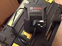 bosch 240v charger with two 2.0ah batteries