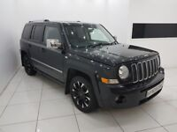 JEEP PATRIOT 2.0 CRD LIMITED 4x4-TIMING BELT DONE-12 MONTH MOT-12 MONTH WARRANTY-£0 DEPOSIT FINANCE