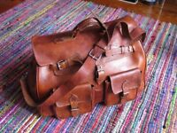 Beatuful hand made Leather Bag
