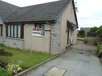 Ideal first time buy or retirement two bedroomed bungalow in Aberdeenshire