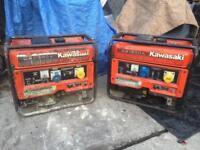Kawasaki generators