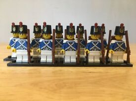 Bluecoat Imperial / colonial Toy Soldiers (10) unbranded but fit lego