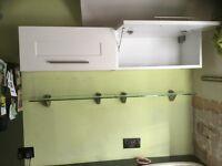 Kitchen wall units , Ivory doors ex B&Q classic Ivory