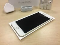 Boxed Gold Apple iPhone 6S Plus 128GB Factory Unlocked Mobile Phone + Warranty