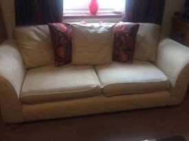 Sofa and sofa bed. £250 must go this weekend grab a bargain! Plenty of wear left clean condition