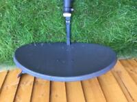 Dish satellite with 5 meter cable only £15