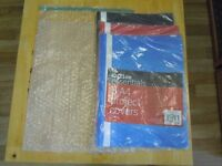 15 x A4 Bubble Wrap Bags & 5pk of 5 x A4 Project Covers