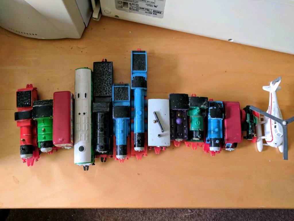Original Thomas the Tank Engine train + friends collection, metal