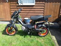 Tomos Racing 49cc Moped 64 plate