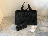 Armani handbag and purse