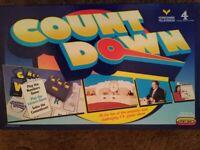 Countdown, Richard Whitely, Board game