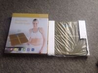ELECTRONIC HEALTH SCALE DIGITAL GOLD AND BLACK