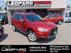 2010 Mitsubishi Outlander XLS,Leather,Sunroof,Awd,7Passenger*Cer