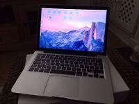 Macbook Pro Retina 13 inch (2015) i5 2.7ghz , 8GB Ram, 128GB SSD