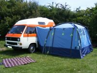 Khyam Motordome Quick Erect Awning for Camper Motorhome VW Etc