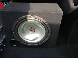 Kenwood sub-woofer and amp