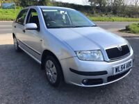 SKODA FABIA AMBIENTE 1.4 16V 75 AUTO 5DR SILVER 2004 FDSH ONLY 23,000 MILES
