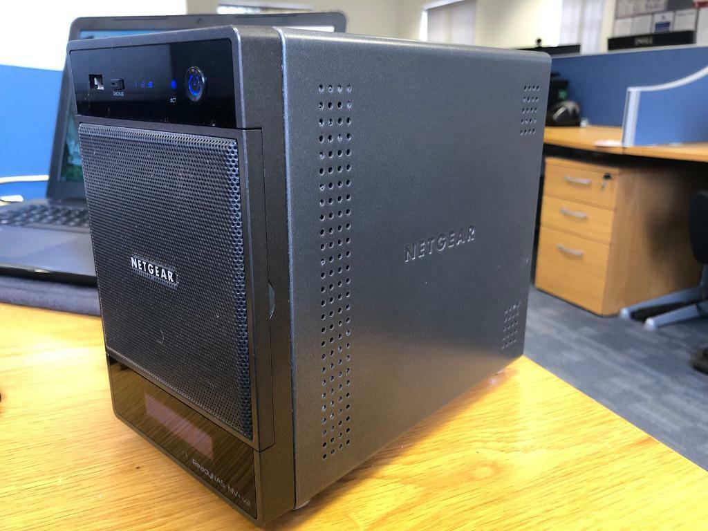 Netgear ReadyNAS NV+ v2 media storage device 8tb | in Tadcaster, North  Yorkshire | Gumtree