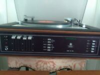 Dynatron record player with Goldring Lenco Deck