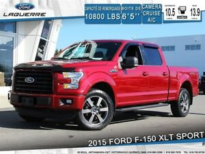 2015 Ford F-150 XLT SPORT*4X4*CAMERA*BLUETOOTH*CRUISE*A/C**