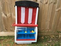 Free to collect. Little tikes market stall.