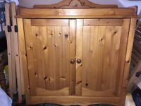 Solid Pine Baby Changing Cabinet