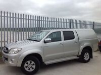 2010 TOYOTA HILUX D/C 2.5 D4-D HL3 4X4 MANUAL SILVER ++ LOW MILEAGE!!!! ++