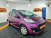 2014 PEUGEOT 107 ACTIVE 1.0 ** LOW MILES ** BUY FROM HOME TODAY / FREE DELIVERY