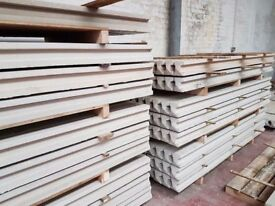 🌟 Manufactured On Site Superb Quality Concrete Fence Posts / Gravel Boards / Base Panels