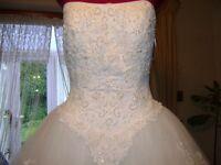 Beautiful Wedding dress waiting for YOU
