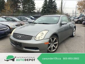 2006 Infiniti G35 LEATHER / MOONROOF / ACCIDENT FREE