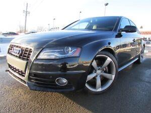 2012 Audi S4 3.0T Premium V6 MAN. A/C CRUISE TOIT OUVRANT!!!
