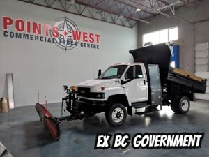 2008 GMC C5500 City Dump Box