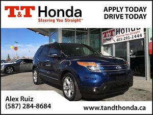 2012 Ford Explorer Limited *Remote Starter, Heated Seats, Naviga